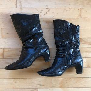 Josef Siebel Leather Heeled Boots